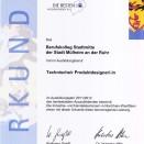 Landes- und Bundesbestenehrung | Bonn 2012