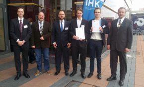 Ehrung der IHK-Landesbesten 2015 in Oberhausen | Quelle: BK-Stadtmitte