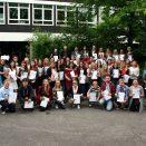 Abschlussklassen 2016 - Standort Von-Bock-Straße   Quelle: BK-Stadtmitte