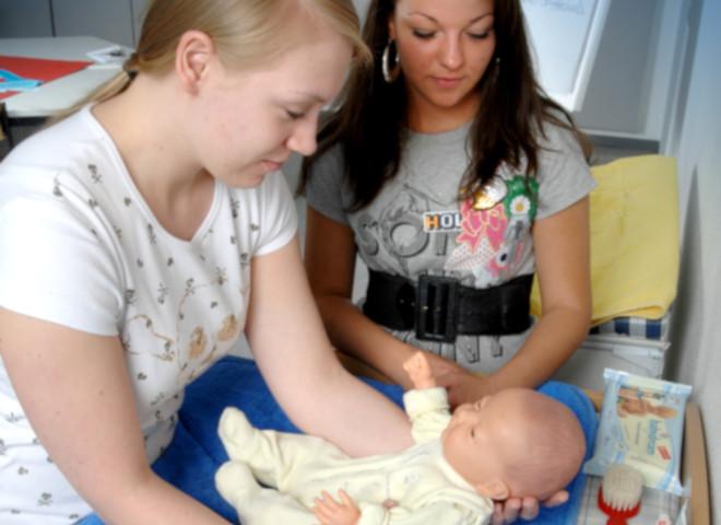 Zweijährige Berufsfachschule - Kinderpflege